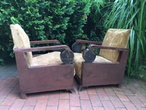 Art Deco Paer Sessel